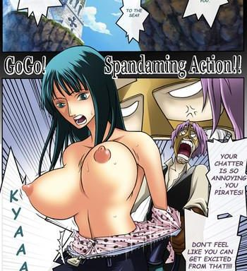 go go spandaming action cover